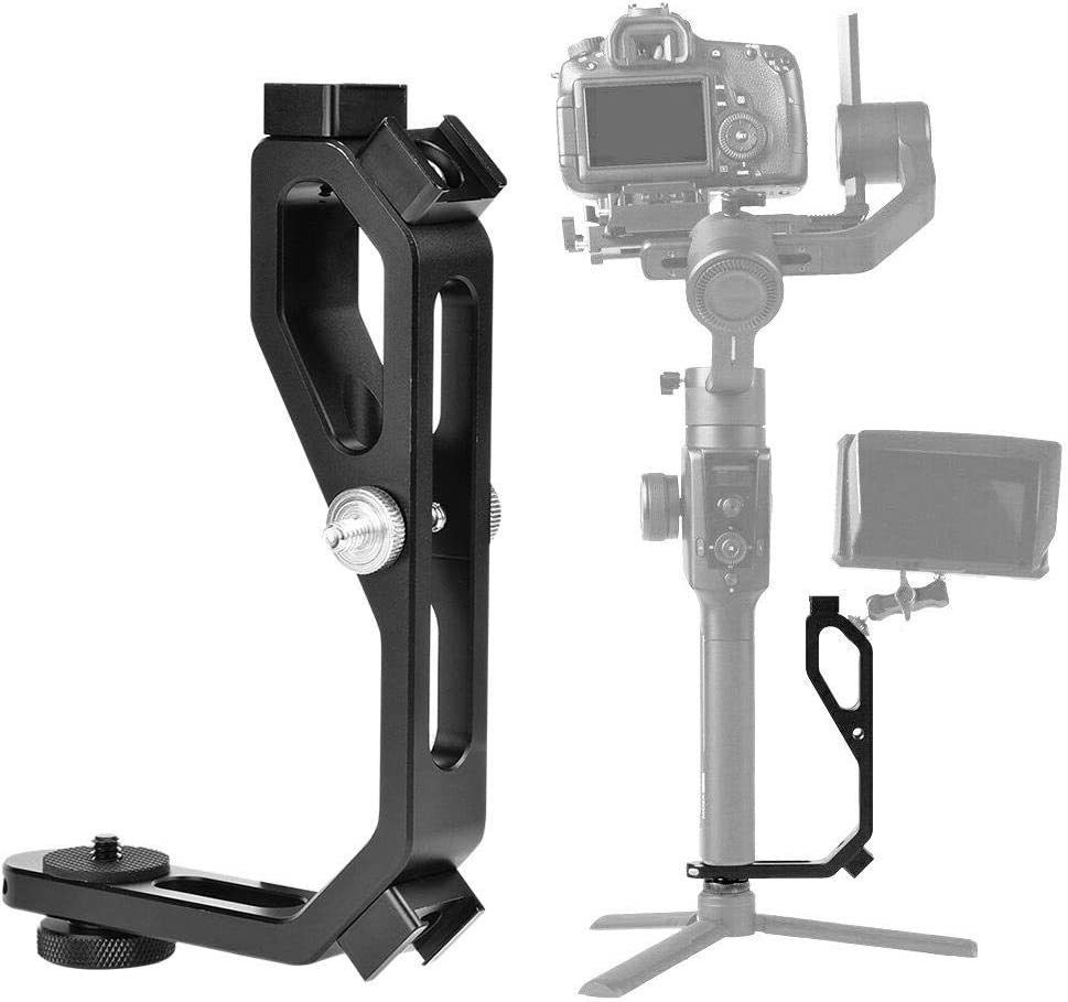 Ronin-S Handle Grip Gimbal Accessory L-Shaped Extension Bracket Mount Plate Holder Handle Grip Gimbal Accessory for DJI Ronin-S