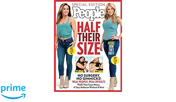6494b91f216 PEOPLE Half Their Size: No Surgery, No Gimmicks! Real People, Real Results:  The Editors Of PEOPLE: 9781683308096: Books - Amazon.ca