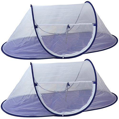 Picnic Food Covers (Iconikal Jumbo Folding Mesh Wind-Resistant Food Tent 43 x 21 inches,)