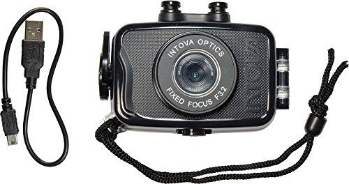 Intova INT00192-BRK Duo Sport Camera Black by Intova