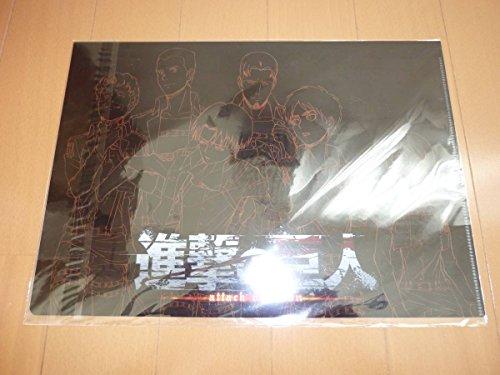 進撃の巨人 ライブビューイング クリアファイル リヴァイ エレンの商品画像