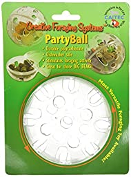 Creative Foraging Systems Bird Treat Dispensing Party Ball, 5-Inch