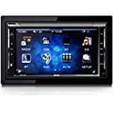 """B52CarAudio DDC-9017 In-Dash DVD Receiver with 6.2"""" TFT Touchscreen Display, Bluetooth Connectivity and SD/USB Receiver"""