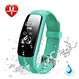 Heart Rate Fitness Tracker Watch, Lintelek Updated Activity Tracker with Multiple Sports Modes, IP67 Waterproof Touch Screen Smart Pedometer for Android and IOS Smart Phones Reviews