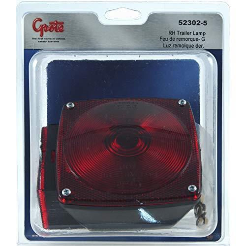 Lamp Stt - Grote STT LAMP, RED, U.S. 440 SERIES -RH, RETAIL PACK (52302-5)