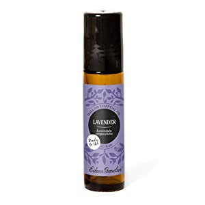 Edens Garden Lavender Essential Oil, 100% Pure Therapeutic Grade (Pre-Diluted & Ready To Use- Skin Care & Stress), 10 ml Roll-On