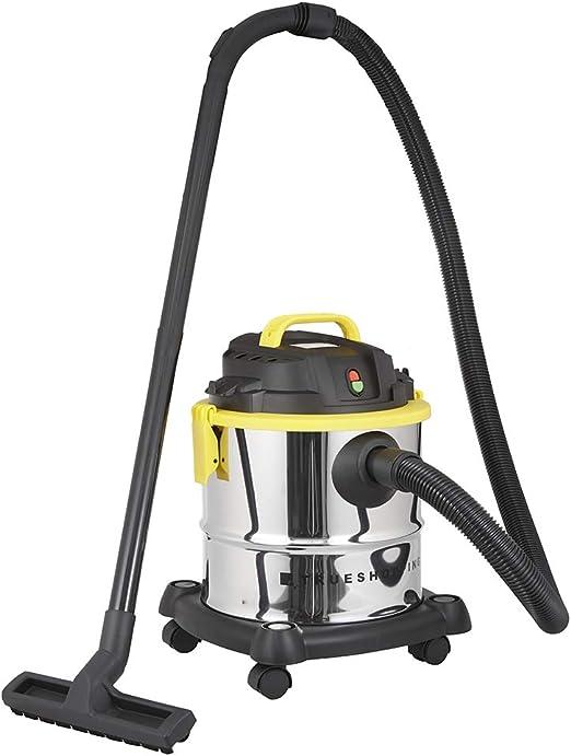Aspiradora Seco y Húmedo - Multiuso 3 en 1 con Soplador para Interior/Exterior - Potente Succión de 1200W - 16 kPa - Accesorio para Grietas y Cepillo Piso/Tapicería Incluido - Capacidad de 20 litros: Amazon.es: Hogar