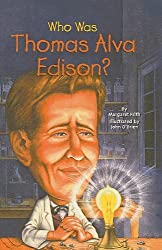 Who Was Thomas Alva Edison? by Margaret Frith (2005-12-29)