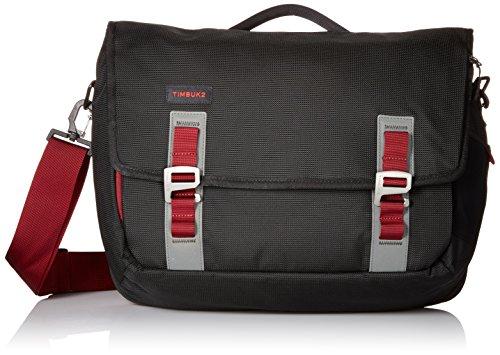 Timbuk2 Command Travel-Friendly Messenger Bag, Black/Red Devil, Medium - Messenger Mens