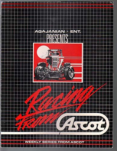Racing Brochure - Racing From Ascot-TV Series Promo Brochure 1995-Ascot Park Speedway-CRA-FN