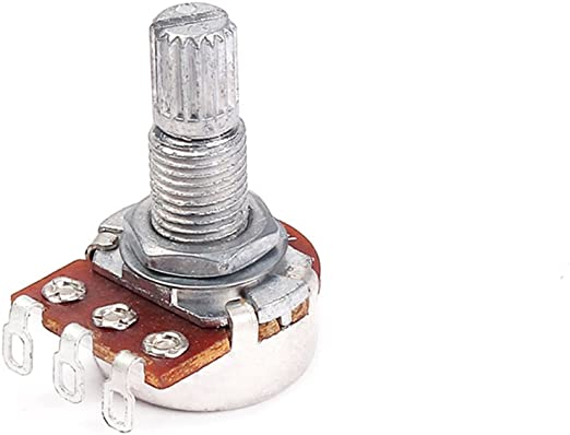 Artibetter A10K Potenciómetros de guitarra Eje de audio ...