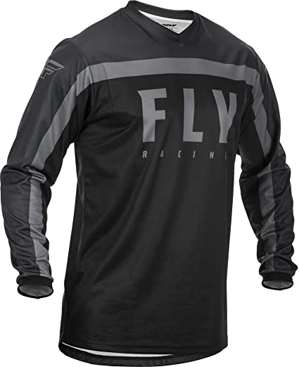 Jerseys Small Black/Grey Fly Racing 2020 F-16 Jersey Protective ...