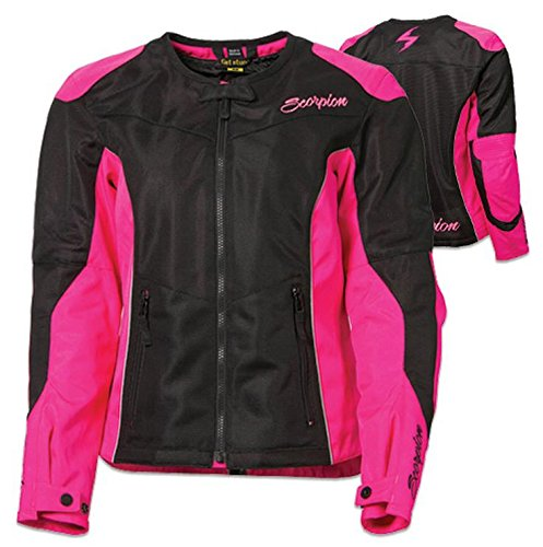 ScorpionExo Verano Women's Textile Sport Motorcycle Jacket (Pink, Small)