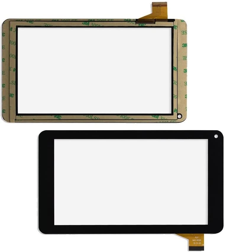 Touch Screen Digitizer Replacement for Digiland Dl700D Digiland Dl721-RB 7 Inch Tablet PC Black