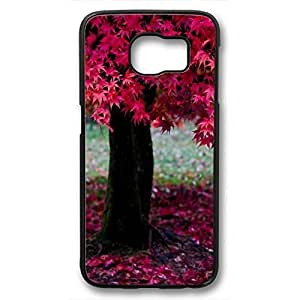 iCustomonline Nature Case For Samsung Galaxy S6 Black PC Sides