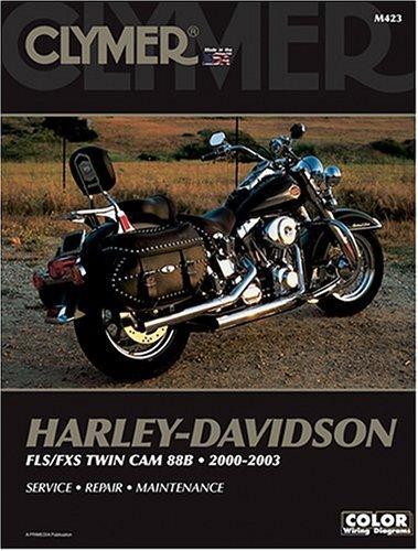 Clymer Harley-Davidson: Fls/Fxs Twin Cam 88B : 2000-2003 -