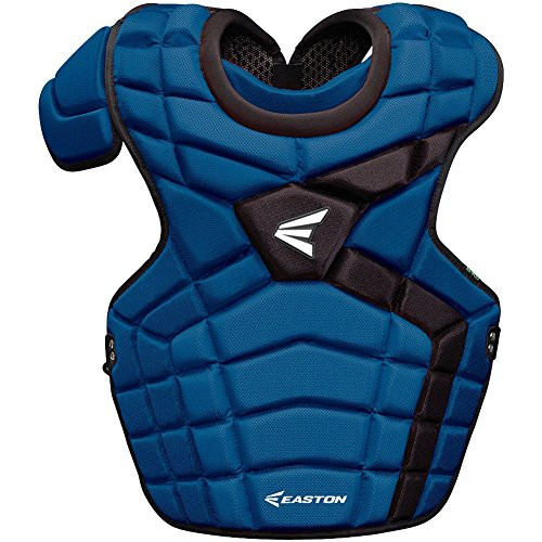 Easton Mako II Intermediate Catcher's Chest Protector, Royal/Black -