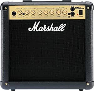 marshall mg15dfx combo amplifier electric guitar combo amp musical instruments. Black Bedroom Furniture Sets. Home Design Ideas