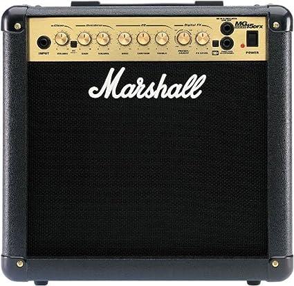 Marshall mg15dfx Combo guitarra eléctrica Combo Amplificador