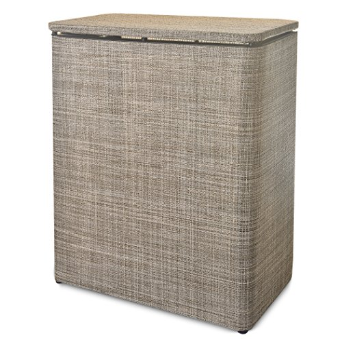 Cheap LaMont Home 78510135 Brooklyn Upright Hamper, Warm Chocolate free shipping Qqq5c3pK