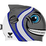 TYR Sport Kid's Charac TYR Happy Fish Swim Cap