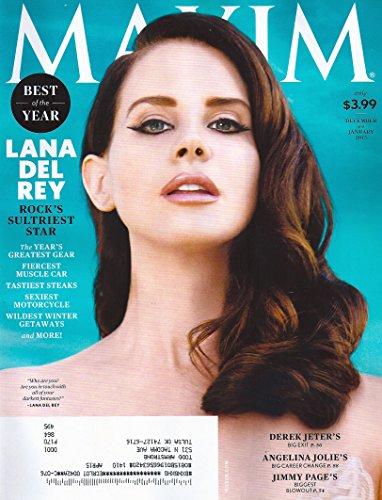 Maxim Magazine (December 2014 / January 2015)