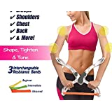 Wanzi2 Arm Workout Machine,Resistance Excerise with 3 System Resistance Training Bands/Arm Exerciser/Exerciser Force Fitness Equipment with System