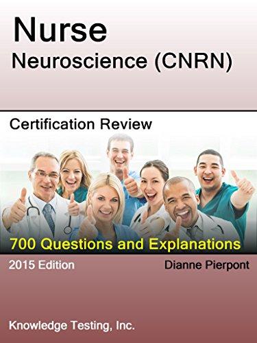 Neuroscience Nursing Certification Review (Neuroscience Nursing Review Series Book 1) Pdf