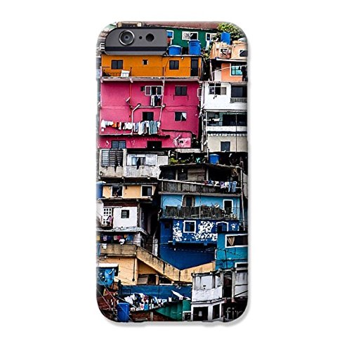 Town Houses Cell Phone Case for iPhone 7, 7 Plus, 6s, 6s (Case Townhouse)