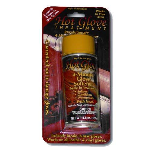 Hot Glove Heat Treatment for Baseball or Softball Glove 4.5 Oz (Softball Glove Treatment)