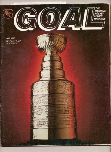 1980 Stanley Cup Playoff Program 2nd Round blackhawks sabers