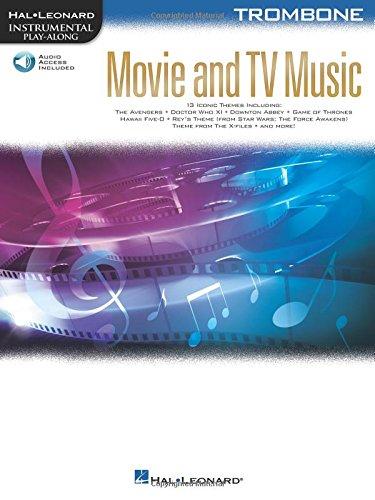 Movie and TV Music for Trombone: Instrumental Play-Along  Series (Hal Leonard Instrumental Play-along)