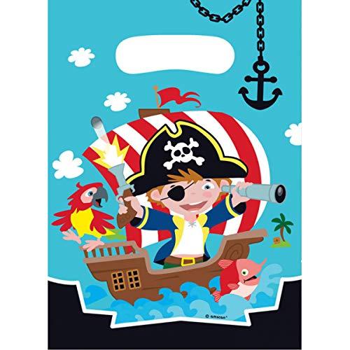 Générique - - 8 bolsita Surprise pequeño Pirata - Bolsa ...