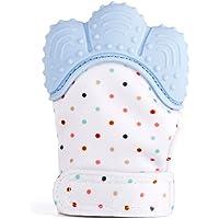 RUBY -Baby dentición Manoplas, Pain Relief tranquilizadora Silicona