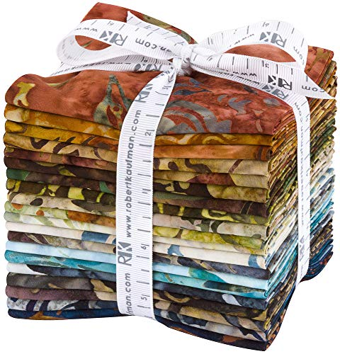 (Lunn Studios Artisan Batiks Wildlife Sanctuary 5 20 Fat Quarters Robert Kaufman Fabrics FQ-1446-20)