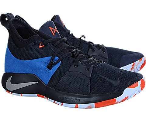Image of NIKE Mens Paul George PG 2 Basketball Shoes