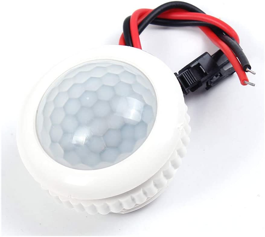 AC  PIR Infrared Body Motion Sensor Detector Control Light Lamp 110//220V