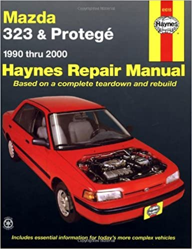 Mazda 323 and Protege Automotive Repair Manual: 1990 to 2000 (Haynes Automotive Repair Manuals)