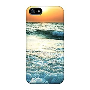 Cases Covers For Iphone 5/5s Strong Protect Cases - Sunset Near Sea Design