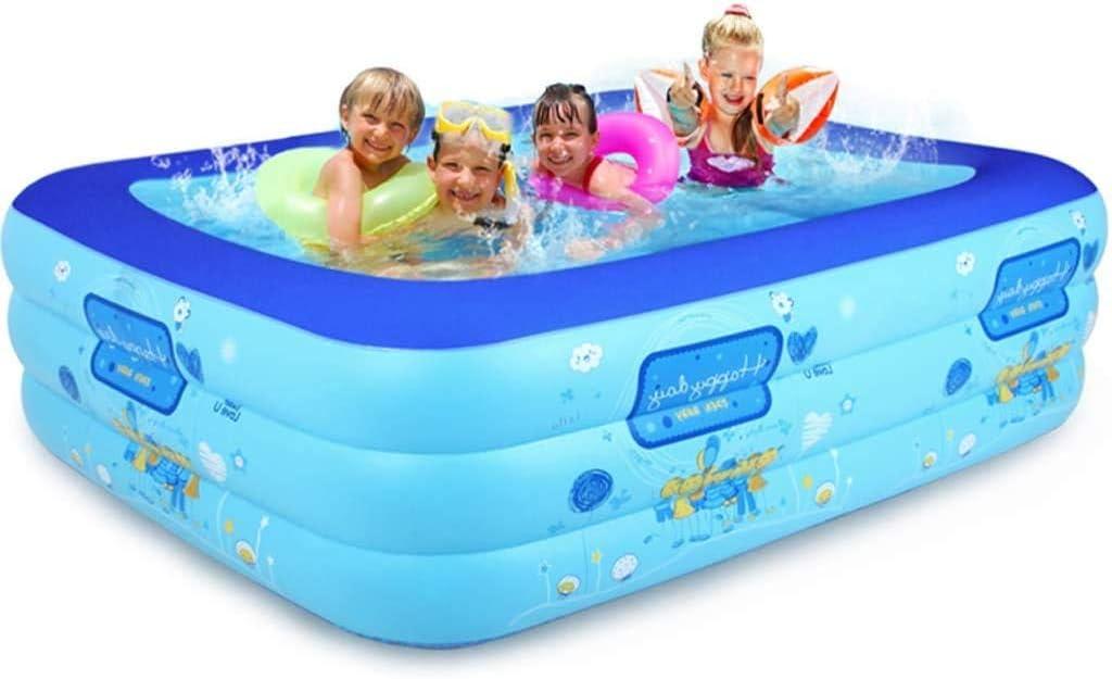 AJH Bañera Inflable Cubo de natación para niños Piscina para bebés Inicio Piscina Inflable para niños Piscina para niños Piscina para niños