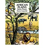 img - for African Plains Sticker Picture[ AFRICAN PLAINS STICKER PICTURE ] by Gaspas-Ettl, Dianne (Author ) on May-08-1997 Paperback book / textbook / text book
