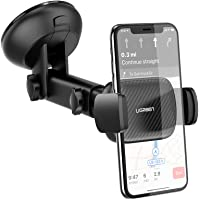 UGREEN Car Phone Mount Dashboard Car Holder Windshield Smartphone Cradle Strong Suction for iPhone 11 Pro Max Xs Max X…