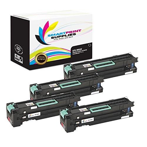 Smart Print Supplies Compatible W850 Black High Yield Toner Cartridge Replacement for Lexmark W850 W850H21G Printers (35,000 Pages) - 4 Pack