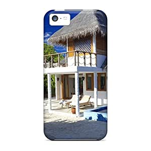 Fashion Case Awesome DeannaTodd Defender case covers Covers For BQAcfinQaK5 Iphone 6 plus 5.5''- Beach House Design Landscape