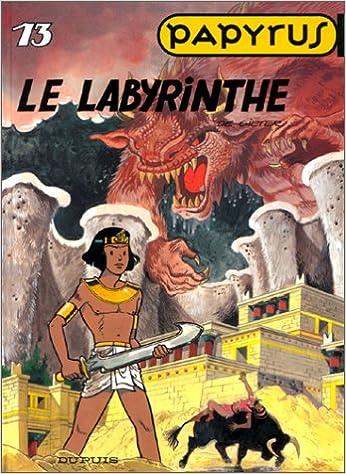 Livre Papyrus, tome 13 : le labyrinthe epub, pdf