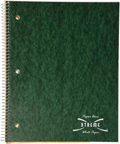 NATIONAL Brand Pressboard Cover Notebook, 80 Sheets, 4 Assorted Colors, 1 Book per Order,(31983) (Pressboard Notebook)