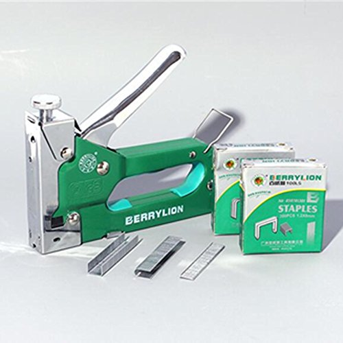 Nail Staple Gun Multitool Kit Nailers Rivet Tool With 1300pcs Top Spring Configuration,firm And Durable,portable Easy To Operate.quick Nailed