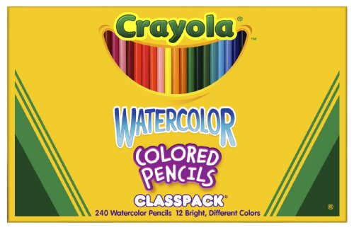 Crayola Thick Wood Pencil 684240