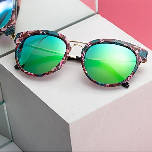 Barbie Lunettes de soleil Femme Fille polarisées à la mode moderne fashion style vintage pratique protection UV 400 cadeau gift Green&Black