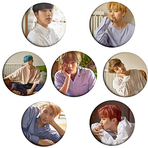 Bts Bangtan Boys  Love Yourself   Her   Buttons Badges Pin 2 3 Inch  58Mm   H01